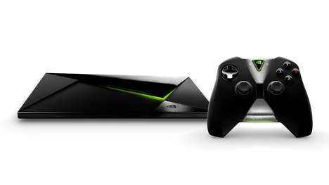 Hybrid Entertainment Consoles - The NVIDIA SHIELD Pro is for Gaming and Streaming in One Device