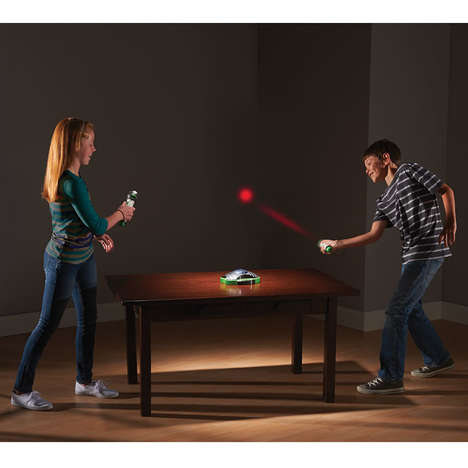 Digital Tabletop Games - The Intergalactic Racquetball Digital Game Digitizes a Traditional Pastime