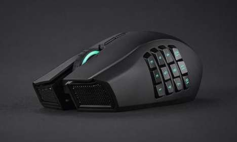 Gamer Computer Peripherals - The Razer Naga Chroma Mouse is Ready for Online Gaming and More