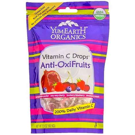 Vitamin-Packed Candies - These Yummy Earth Vitamin C Drops Come in a Variety of Tasty Flavors