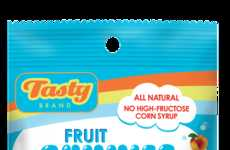 Gelatin-Free Gummies - Tasty Brand Organic Candy is Free of Artificial Colors and Flavors