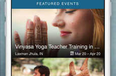 International Yoga Apps - YogaTrail Connects Yogis to Teachers and Classes All Over the World
