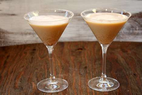 Multi-Holiday Beverages - This Holiday Cocktail Recipe Makes a Delicious Pumpkin-Eggnog Martini