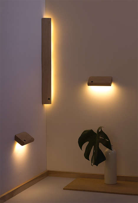 Motion-Detecting Nightlights - These Ellum Motion Sensing Lights are Easily Placed Almost Anywhere