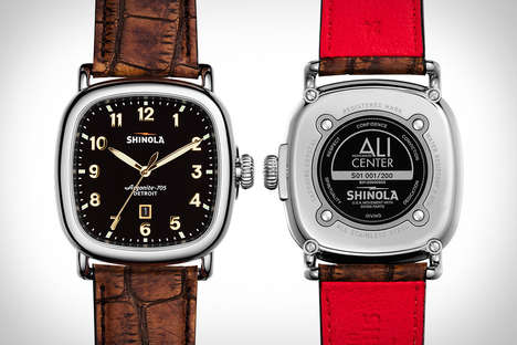 American Boxer Watches - The Shinola Watches Muhammad Ali Watch Celebrates the Boxer and Detroit