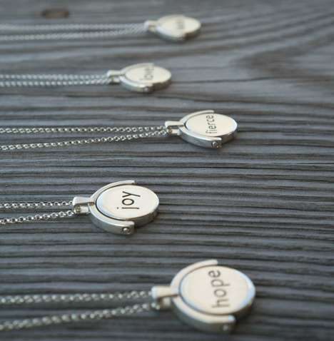 NFC-Enabled Jewelry - Lokett Smartphone Memory Jewelry Can be Customized with Videos or Photos
