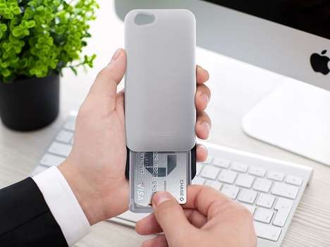 Sliding Smartphone Cases - The Gresso Aluminum Slider Case Holds Cards Discreetly in Your Phone