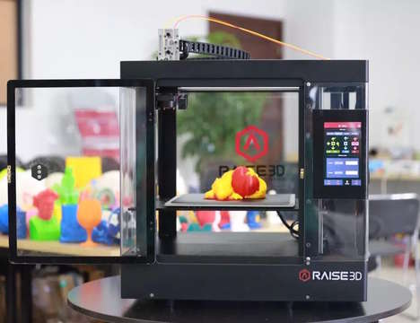 High-Resolution 3D Printers - The Raise3D N-Series 3D Printer Provides a Superior User Interface