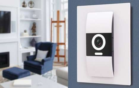Smart Connected Light Switches - The D-Link DKZ-201S 'Komfy Switch' Provides Seamless Connectivity