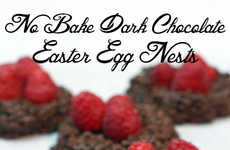 Coconut Chocolate Easter Nests