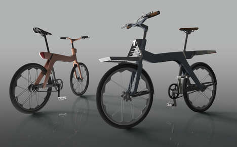 Structurally Swappable Bicycles - The Rubybike Allows Consumers to Easily Replace New Bike Parts
