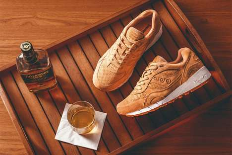 Historical Coffee Sneakers - The Saucony Shadow Runners Pay Tribute to the Creation of Irish Coffeee