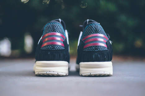 Breathable Mesh Stability Sneakers - The Adidas ZX Flux Shoes Offer Support With a Barely There Feel