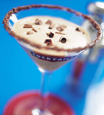 Creamy Chocolate Confection Cocktails - The Holiday Ultra Alexander is a Drinkable Iced Dessert