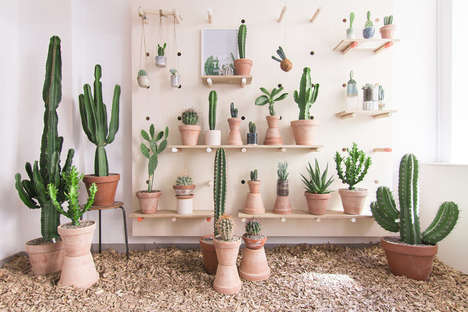 20 Nature-Inspired Retail Spaces - From Earthy Organic Juice Bars to Succulent Retail Concepts