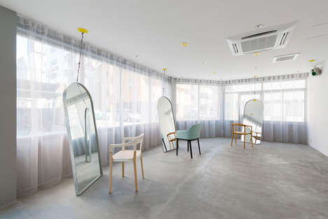25 Contemporary Salon Concepts - From Austere Barber Shop Interiors to Ethereal Minimalist Salons