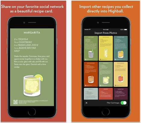 25 Educational Food and Beverage Apps - From Digital Sommelier Tools to Boozy Recipe Platforms