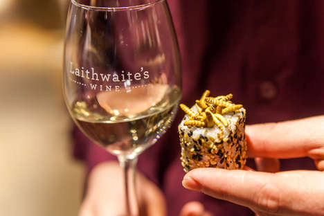 19 Insect-Infused Edibles - From Gourmet Insect Restaurants to Insect Wine Pairings