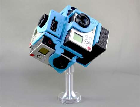 Spherical Video Capturers - The Pro6 GoPro Accessory is Designed to Record 360-Degree Video