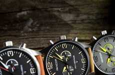 Pilot Instrument-Inspired Timepieces