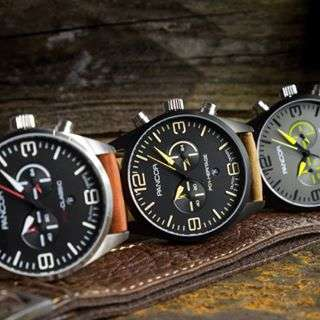Pilot Instrument-Inspired Timepieces - The Pancor Aviator Watch Blends Vintage and Modern Style