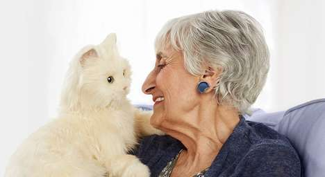 Reactionary Robotic Pets - The Hasbro 'Joy for All' Robot Cat is Designed for Elderly Owners