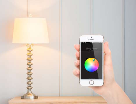Economical WiFi Light Bulbs - The Qube LED Smart Bulb is the Most Affordable Option on the Market
