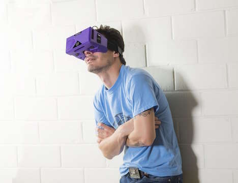 Portable Virtual Reality Headsets - These Merge Smartphone VR Goggles are Crafted to Go Anywhere