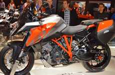 Fuel-Efficient Motorbikes - The KTM 1290 Super Duke GT Offers More Revolutions Per Minute