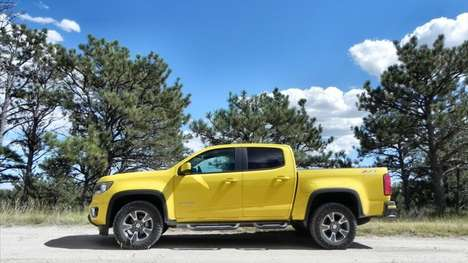 Fuel Cell Military Trucks - This Fuel Cell Chevrolet Colorado Emits Only Water