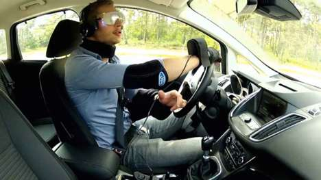 Drugged Driving Suits - Ford's Drugged Driving Suit Simulates What It's Like to Drive On Drugs