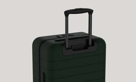 Device-Charging Luggage - The AWAY Carry-On Case Features an Integrated Backup Battery for Gadgets