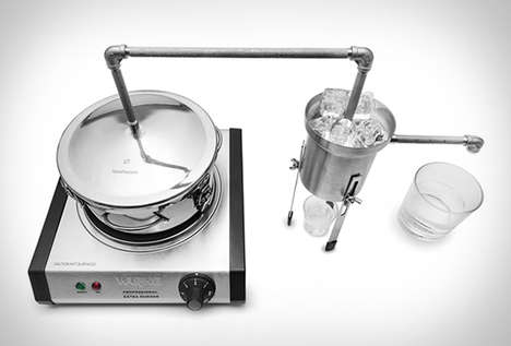 Moonshine Distilling Kits - The Tabletop Moonshine Still Allows for Quality At-Home Production