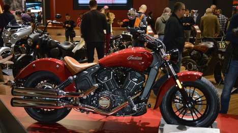 Affordable Indian Motorcycles - The 2016 Scout Sixty Has a Distinctly Sporting Appearance