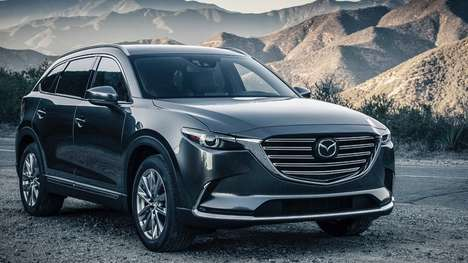 Blind Spot-Monitoring SUVs - This Mazda SUV Monitors Blind Spots For Increased Safety On the Road