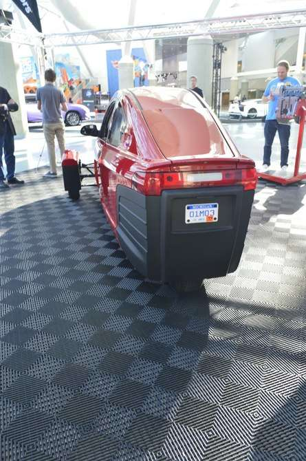 Efficient Three-Wheeled Cars - The Elio Motors P5 Offers Great Performance and Fuel Economy