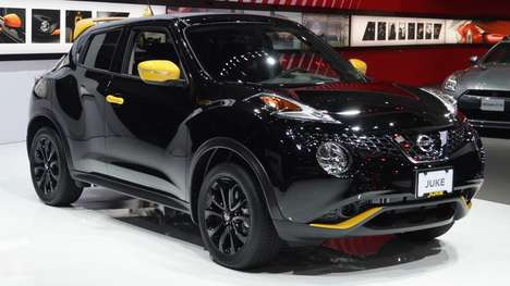 Bumblebee-Colored Cars - The Nissan Jike Stinger is Decked Out In Black and Yellow