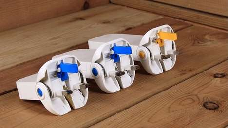 Flattened British Plugs - The Flip Plug Makes the Famously Bulky British Electrical Plug Compact