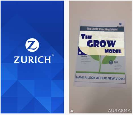 AR Management Programs - Zurich Insurance Uses Augmented Reality to Help Managers Improve