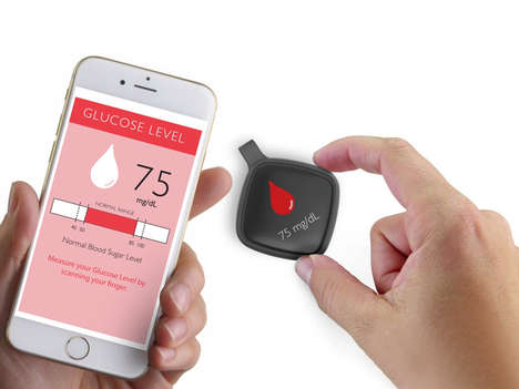 Consolidating Wearable Glucometers - The Flore Gadget Offers Biometric Relief to Those with Diabetes