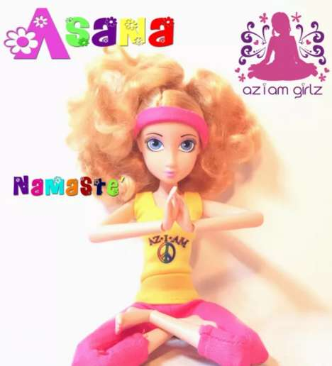 Flexible Yoga Dolls - The AZIAM Girlz Doll Toys are Based on the Eight Limbs of Yoga