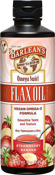 Fruity Flax Oils - Barlean's Flax Oil Supplements Boast a Smoothie Taste and Texture