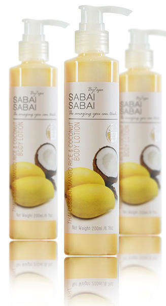 Thai Dessert Lotions - This Sabai Sabai Asian Skincare Lotion Reminds of a Classic Thai Dessert