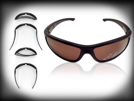 Strong Flexible Sunglasses - Charlie V Unisex Sunglasses are Able to Survive Rough Daily Routines