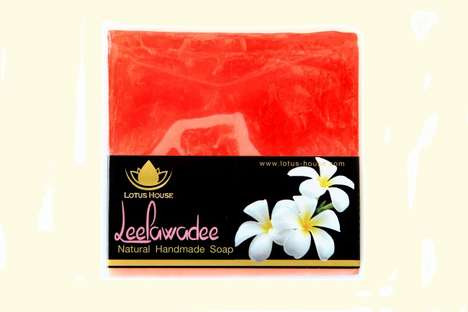 Softening Thai Soaps - This Handmade Soap is Infused with a Popular Thai Flower