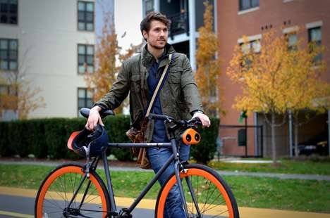 Urban Cyclist Safety Accessories - The Loud Mini Turns Your Bike Horn into a Car Horn