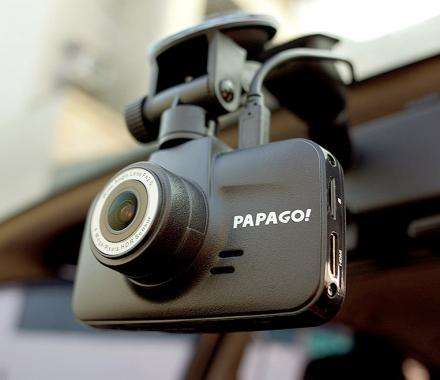 Emergency-Detecting Dash Cams - The PapaGo GS520 HD Dash Cam Records Footage in 2K resolution