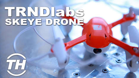 TRNDlabs SKEYE Drone Review - These Drone Toys from TRNDlabs are Some of the Smallest in the World
