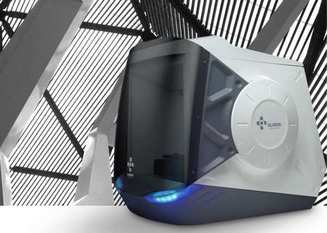 Family-Friendly 3D Printers - The Rever 3D Printer Makes At-Home Printing More Versatile