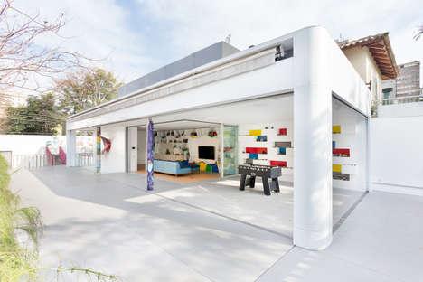 Playful Party Homes - This Home is Designed to Provide a Whimsical Play Space for Children